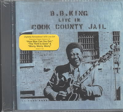 LIVE IN COOK COUNTY JAIL BY KING,B.B. (CD)